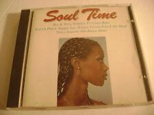 Soul Time (CD) Ike & Tina Turner, Lloyd Price, Eddie Floyd, Nina Simone...
