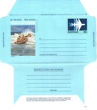 New listing Australia 1982 Aerogramme Surf Boat ASC A59 Mint Unused