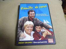 "DVD ""UNE FAMILLE DE COEUR"" Mimie MATHY, Bruno WOLKOWITCH"
