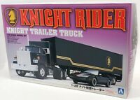 Aoshima 1/28 Scale Model Truck Kit 30660 - Knight Rider Trailer Truck