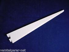 2 Stück SOVELLA Regalträger 35 cm Konsolen,Regalhaken GWS- Träger weiß 60 Kg