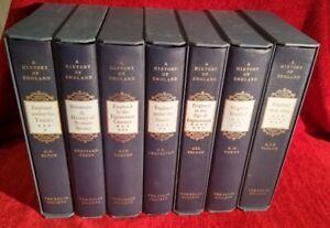 The History of England: Thomas Babbington Macaulay: Folio Society: 7 Volumes