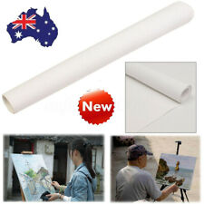 Blank Stretched Artist Canvas Roll 200x40cm Paint Cotton Art Oil Drawing Ca