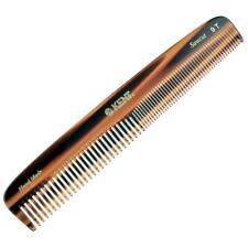 """Kent 9T 7 1/2"""" Handmade Comb Coarse / Fine Toothed Men Women. Sawcut"""