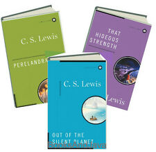 Space Trilogy (hc) Out of Silent Planet,Perelandra,Hideous Strength by C S Lewis