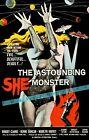 The Astounding She Monster 1958 Sci-Fi Film Vintage Poster Print Art Retro Ad