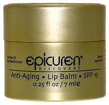 Epicuren Anti-Aging Lip Balm Spf 15 Pot - New Fresh Authentic