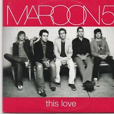 Maroon 5-This Love cd single