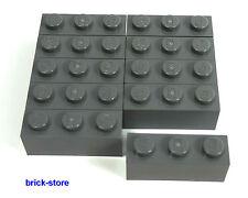 LEGO®  / dunkelgraue/grau / 1x3 GRUNDBAUSTEINE / 10 Stück /  BASICSTEINE STEINE