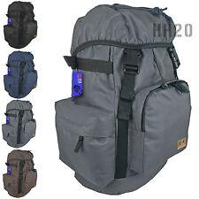 Backpack Fishing Hiking Rucksack Mens Boys School Sport Waist Hip Belt Large Bag