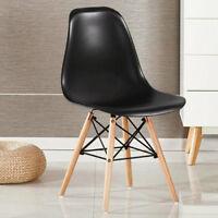 MODA Eiffel Chaise salle à manger style vintage rétro salon à - plastique bois