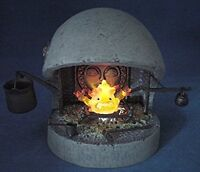 New Cominica Image Collection XI Howl's Moving Castle Calcifer Fireplace Set F/S