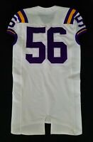 LSU Tigers Game Used Jersey Lightly Worn by #56 With Nameplate Removed