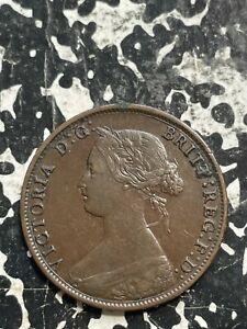 1861 New Brunswick 1 Cent Lot#JM2719 Nice!