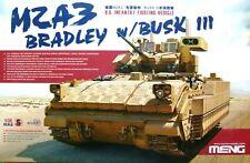 Meng Models 1:35 M2A3 Bradley w/ BUSK III U.S Infantry IFV Model Kit