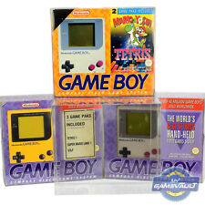 1 Box Protector for Nintendo Game Boy DMG 01 Console 0.5mm Plastic Display Case