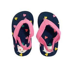 Oshkosh B'gosh Cat Flip Flops For Kids