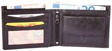 Men's Leather Wallet - 12 x 9 cm - Brown Genuine Leather Purse W-421000200072400