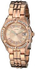 Guess Pulsera Reloj Mujer Woman Bracelet Watch Rose Gold Steel Case Oro Crystal