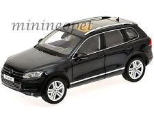KYOSHO 08821DBK 2010 VW VOLKSWAGEN TOUAREG FSI SUV 1/18 DIECAST MODEL CAR BLACK