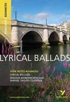 Very Good, Lyrical Ballads: York Notes Advanced, Eddy, Steve, Book