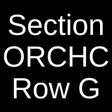 4 Tickets The Cat in the Hat 4/17/21 Fort Lauderdale, FL
