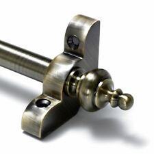 """Antique Brass Stair Rods - 1/2"""" x 36"""" - Premium Range - Urn Finial"""