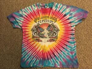Grateful Dead, Furthur Fest, The Other Ones Vintage 1998 Tour Tie Dye T-shirt XL