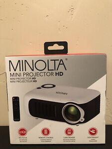 Minolta Mini Projector Model MN630 - NIB