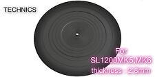 Technics Turntable Genuine Rubber Mat Rgs0008 for Sl-1200Mk5, Mk6 Free tracking