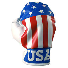 Unique USA Boxing Glove Golf Driver Headcover Fits up to 460cc Clubhead