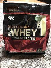 ON Optimum Nutrition Gold Standard 100% Whey Protein Vanilla 5.46 lbs 80 Serving