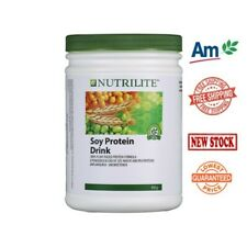 4 x 450g Amway Nutrilite Soy Protein Drink Low Fat Original Flavor EXPRESS SHIP