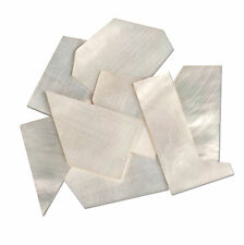 StewMac Pearl Inlay Blanks - 1oz Pack, White mother-of-pearl
