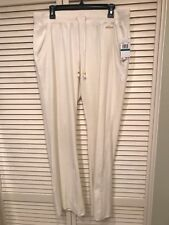NWT Michael Kors Women's Basics Velour Sweat Pants Cream Size Large L MSRP $ 88