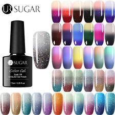 UR SUGAR 7.5ml Color Changing UV Gel Polish Holographic Glitter Thermal Gel Nail