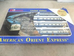 Rivarossi Limited Edition HO Trains 2263/3000 American Orient Express--FREE SHIP