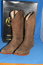 Rancho Boots cowboystiefel westernstiefel neu leder handmade  gr. 45 choco mokka