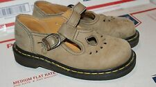 Vintage Womens Dr Doc Martens T-Strap Shoes Size 4 US 2 UK Made In England
