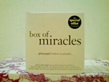 Philosophy Box of Miracles Set Brand New & Sealed in Box