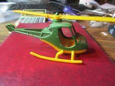 1960's Tootsietoy Helicoptor Die Cast