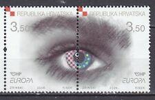 CROATIA 2006 **MNH SC# #  620  Europa - pair