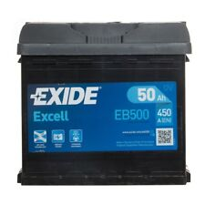 EB500 Excell 012 Car Battery 3 Years Warranty 50Ah 450cca 12V Electrical Exide