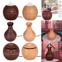 Smart LED Humidifier Essential Oil Diffuser Aroma Air Aromatherapy Purifier Mist