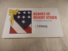 1991 Marshall Islands Heroes Desert Storm $ 5.00 Original Pack Sealed - # 149668