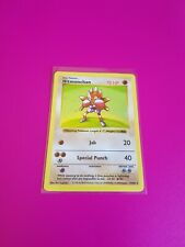 Pokemon Hitmonchan Shadowless Holo Base Set 7/102 Excellent - Near Mint