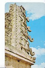 Mexico Postcard - The Nun's Quad - Northern Temple - Uxmal - Yucatan A5893