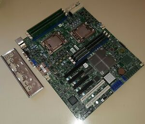 Server Motherboard Supermicro X8DTL-i + 2x Intel Xeon E5520 + 6GB ECC memory