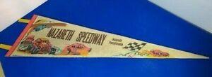 VINTAGE 1975 NAZARETH SPEEDWAY {NOW CLOSED} Race Banner PENNSYLVANIA 27.5 X 8