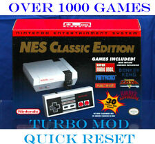 Nintendo NES Classic Editiion Mini Console 1,000+ Games SNES Genesis Authentic